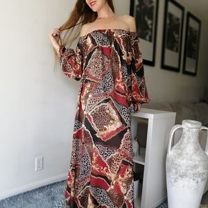 Off The Shoulders One Size Maxi